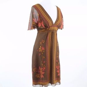Anna Sui Anthropologie dress sz 12